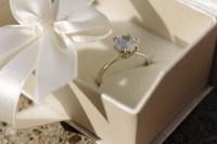 婚約指輪プロポーズリング