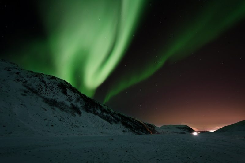 Abisko Northern lights spotting is the best!