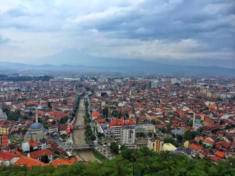 nearby Prizren, Kosovo - easy to travel to Albania from here