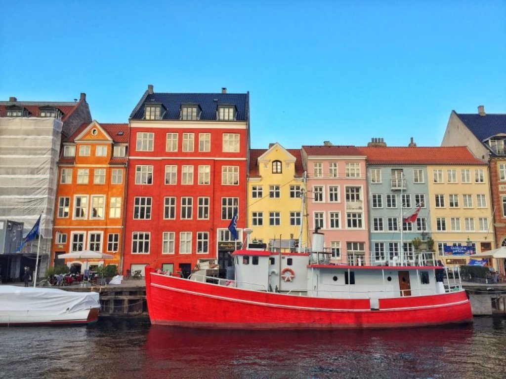 On my last day of my trip, I couldn't even go out and explore Copenhagen.