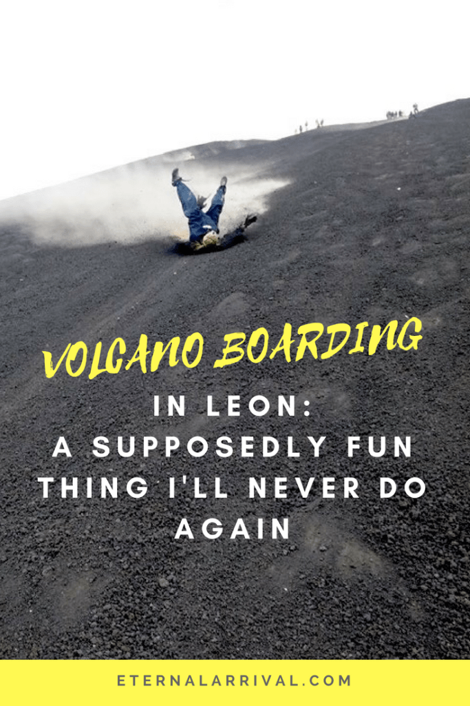 Hurdling down a 2,300 foot volcano on a piece of wood... What could possible go wrong? Read all about my misadventures volcano boarding in Leon, Nicaragua!