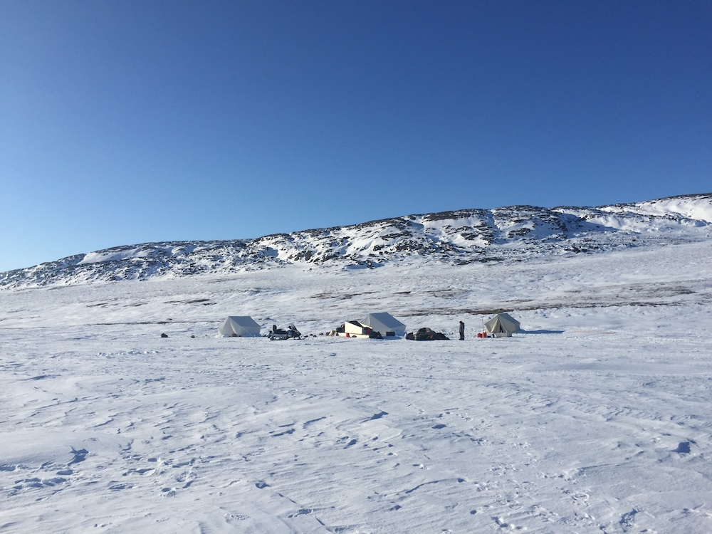 The sparsely populated Canadian Arctic
