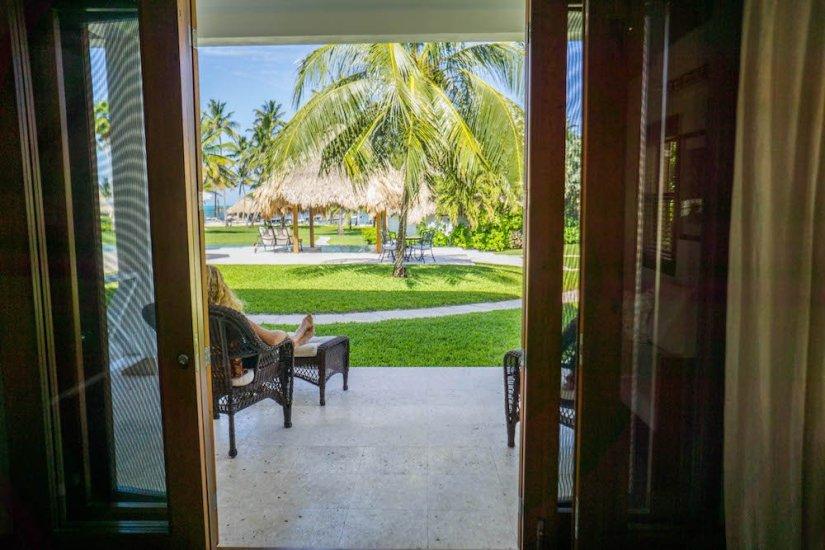 View at Victoria House San Pedro Belize