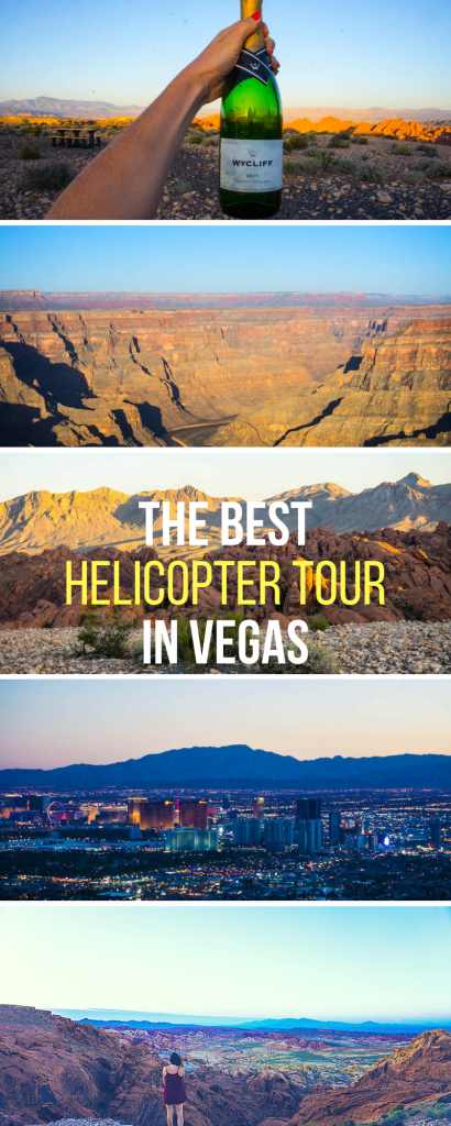See the Grand Canyon, the Valley of Fire, AND The Las Vegas Strip by helicopter - with sunset champagne! TIck this one off the bucket list with an exclusive discount code for readers inside.