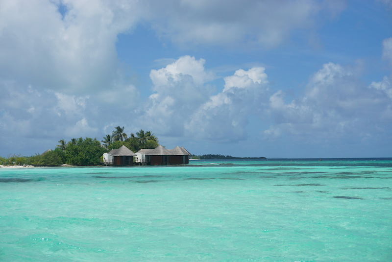 The view from a local island, Huraa