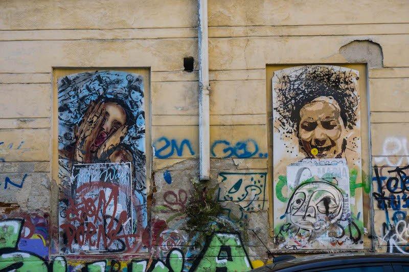 Local street art in Bucharest, a real hidden gem