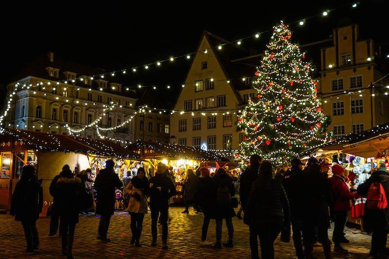 Christmas markets in Tallinn, a great reason to visit Tallinn in November!