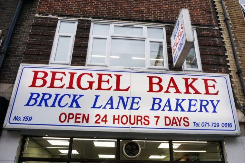 things to do in Shoreditch - eat a salt beef bagel