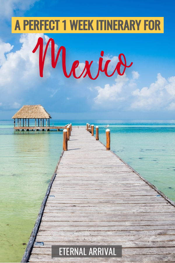 Got only 7 days in Mexico? This one week Mexico itinerary will bring you to the throbbing capital of Mexico City, to the quaint mountains of Guanajuato, and the lovely beaches of Isla Holbox. Experience the best of Mexico in just 1 week - read for suggestions on how to best plan your Mexico trip with this awesome itinerary.