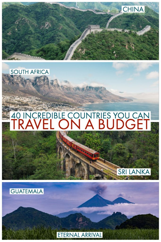 Want to travel on a budget? This is your ultimate guide to the best countries to visit when you're short on cash. These budget travel destinations can be explored on a backpacking budget of around $30-40 per day, and it's more than just Southeast Asia! Here are travel bloggers top picks for the best places to travel cheaply, for students, backpackers, and budget travelers.