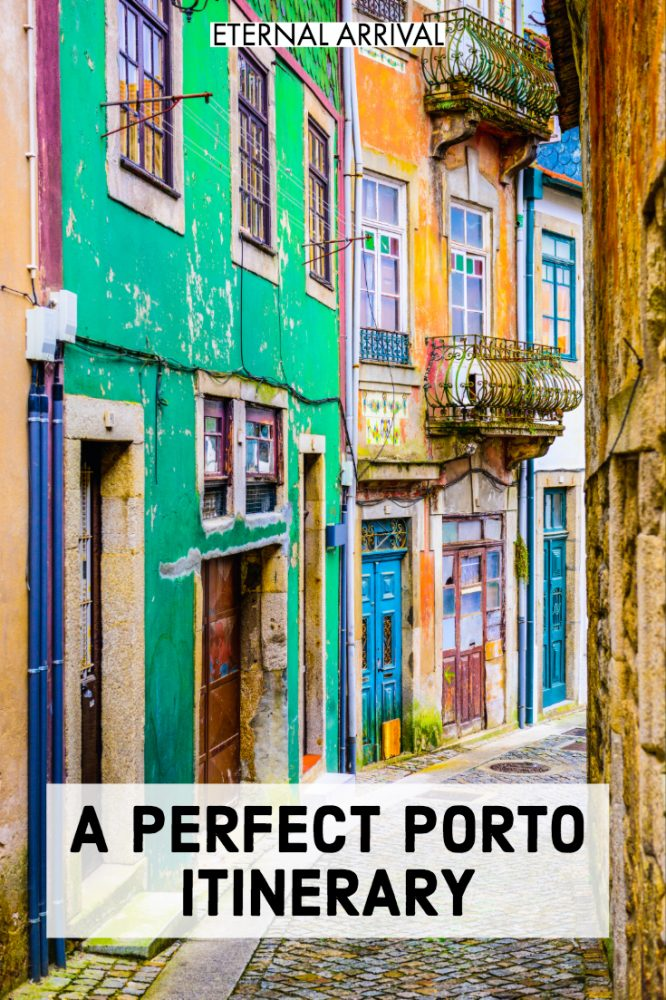 Want to know the best things to do in Porto, Portugal? This Porto itinerary is for people who have only a weekend in Porto. In just 2 days in Porto,  see all the best places to visit: photography & Instagram spots like Livraria Lello, gorgeous rooftops, delicious food & bakeries, shopping for Porto souvenirs, visiting the beach! You can't forget port wine at the port houses or a boat cruise on the Douro! Here's what to do Porto on your first trip to Portugal!