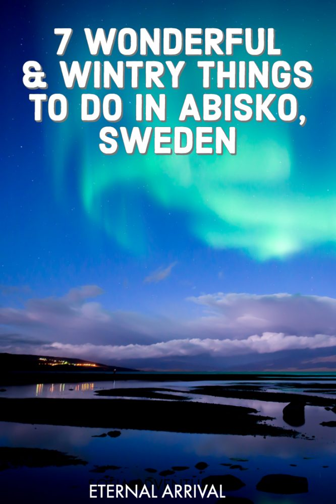 Planning to visit Abisko, Sweden? Abisko National Park and the small village of Abisko is one of the best places to see the Northern lights (aurora borealis). Abisko in winter is beautiful, with dog sledding, Northern lights chasing, snow sports, and more wonderful things to do in Swedish Lapland in winter. Here's all the best things to do in Abisko in winter!