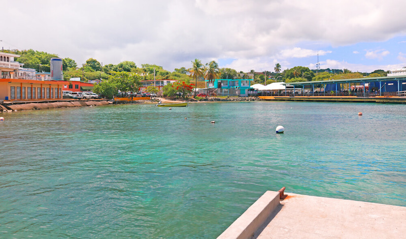 leaving colorful port on the fajardo vieques ferry