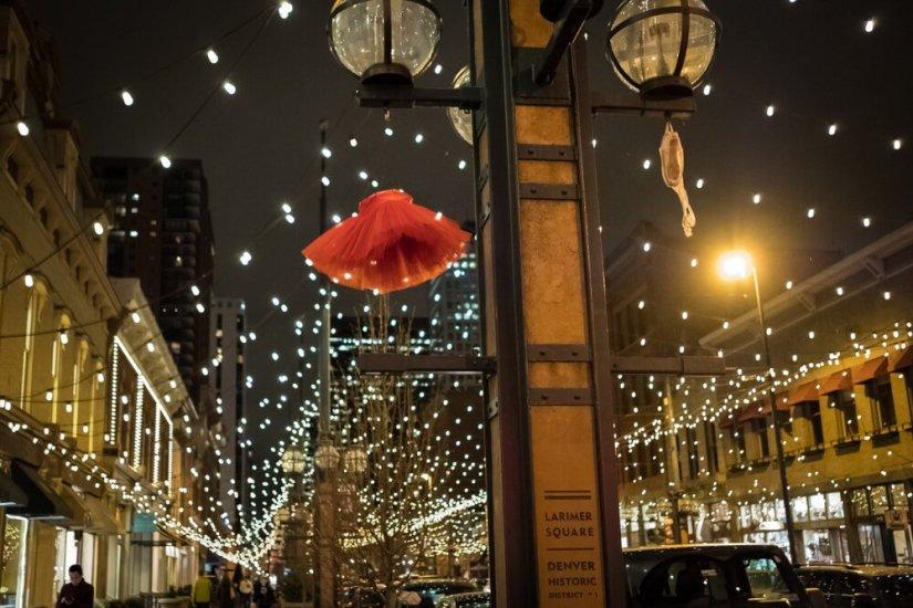 christmas lights in larimer square denver