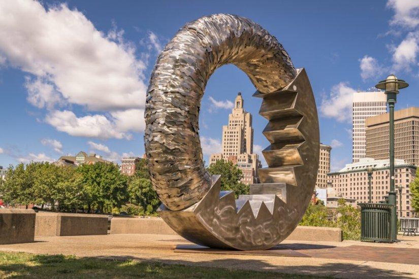 public art piece in providence rhode island