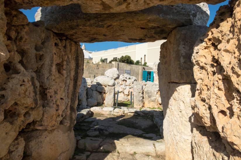 The prehistoric megalithic complex Ta'Hagrat and Skorba on Malta island are older than famous Stonehenge
