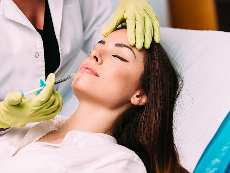 Dermal Filler Injection Treatment
