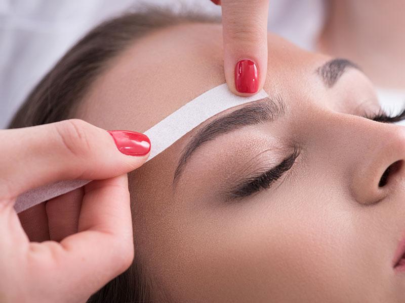 Eyebrow Waxing Beauty School Course