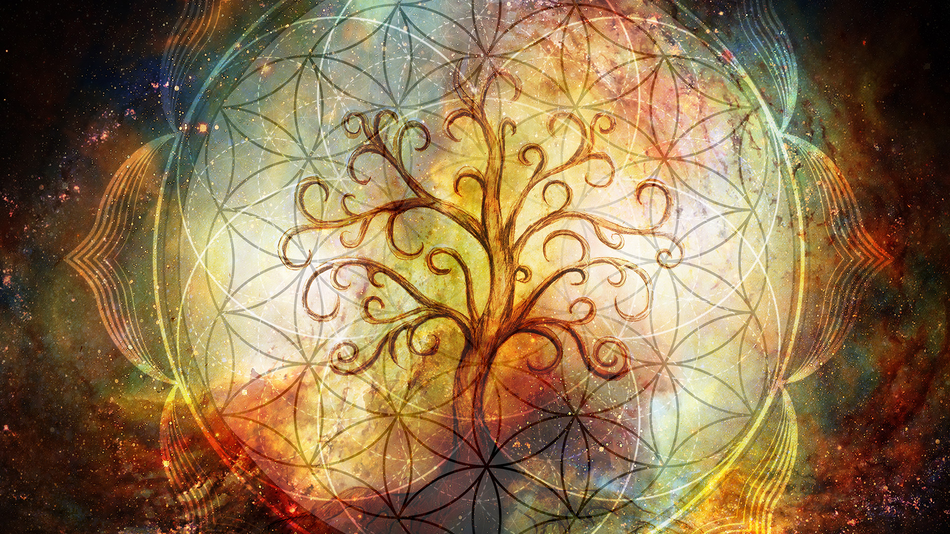 Tree of Life · Flower of Life · Seed of Life