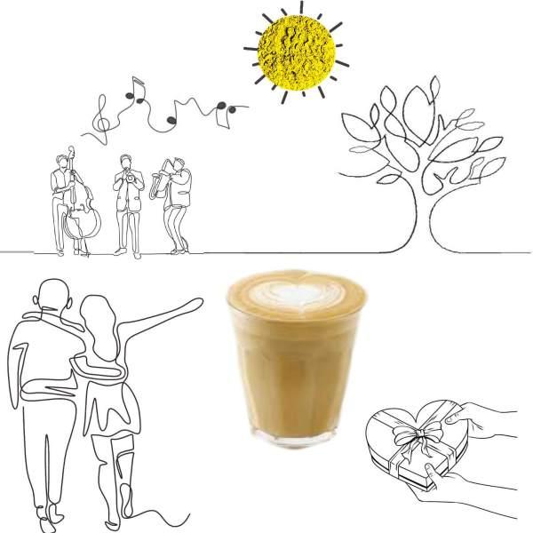 Xmas Cafe Latte – Organic Drink