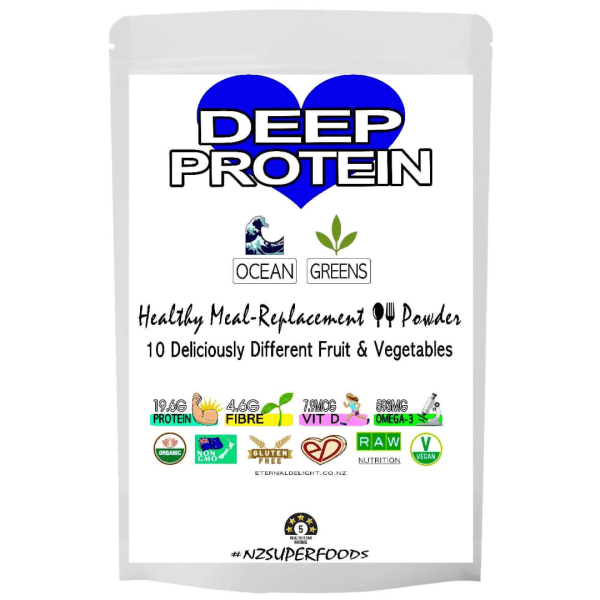 Organic Superfood Shop. Deep Green Protein Powder. Rich Sea-Vegetable Meal-Replacement. Nourish Muscle Growth. Mindful Weight Wellness. Plant-Based.