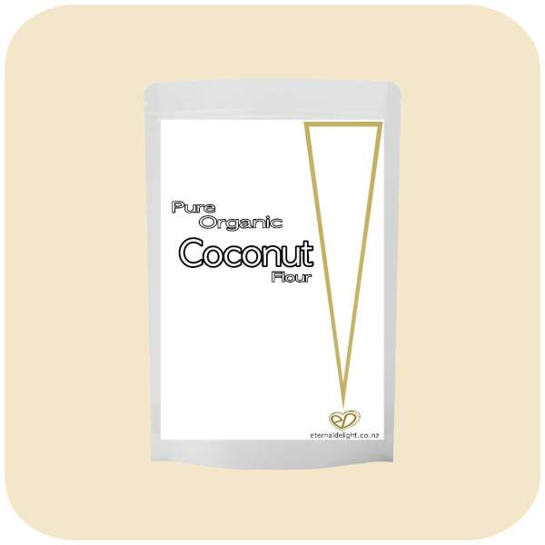 COCONUT FLOUR. ORGANIC. ETERNALDELIGHT.CO.NZ