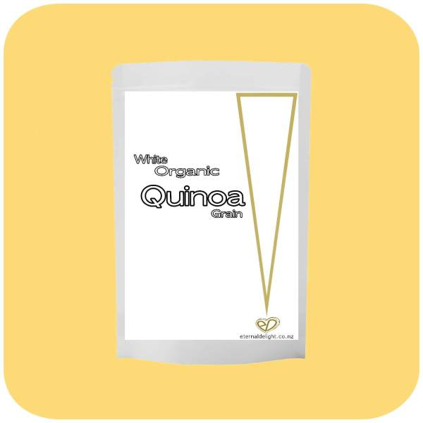 QUINOA GRAIN. ORGANIC. ETERNALDELIGHT.CO.NZ
