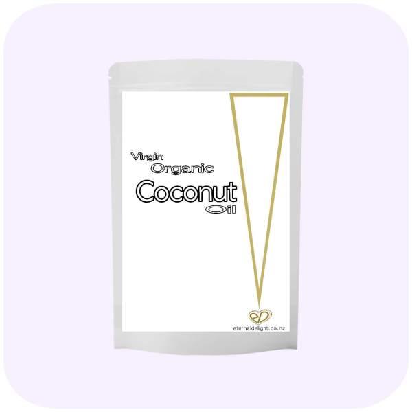 COCONUT OIL. ORGANIC. VIRGIN. ETERNALDELIGHT,CO,NZ