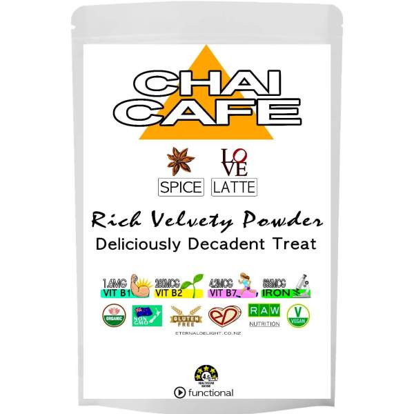 CHAI CAFE LATTE POWDER. ETERNALDELIGHT.CO.NZ