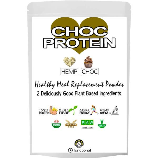 CHOC HEMP PROTEIN POWDER. ETERNALDELIGHT.CO.NZ
