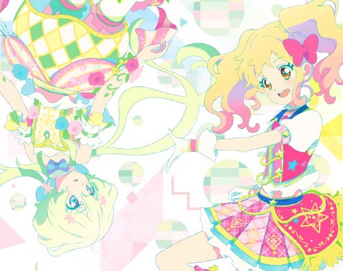aikatsu stars message of rainbow