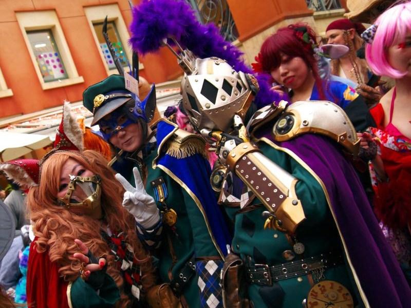 kawasaki halloween costumes