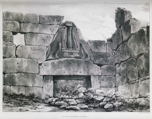 Gate of Lions Mycenae Eternal Greece Ltd