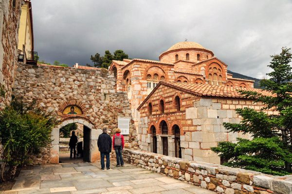 Hossios Loukas Byzantine monastery complex, UNESCO-listed World Heritage Site copyright Eric Cauchi Eternal Greece Ltd Eric Cauchi Eternal Greece Ltd
