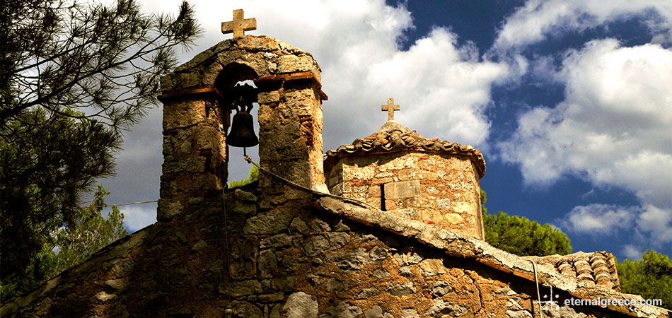 Aghia Marina chapel, Lygourio Eternal Greece Ltd