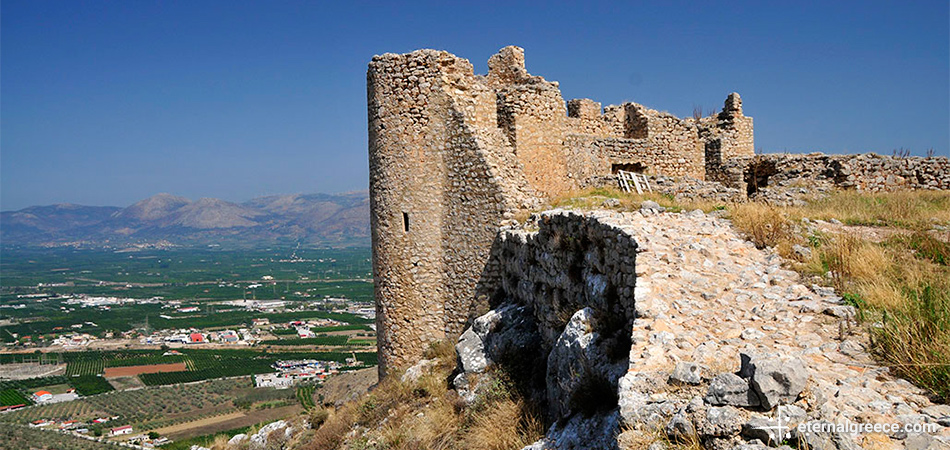 Larissa castle Argos Peloponnese Eric CB Cauchi Eternal Greece Ltd