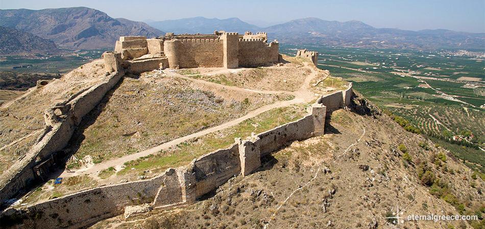 Larissa castle Argos Peloponnese Eric CB Cauchi Eternal Greece Ltd