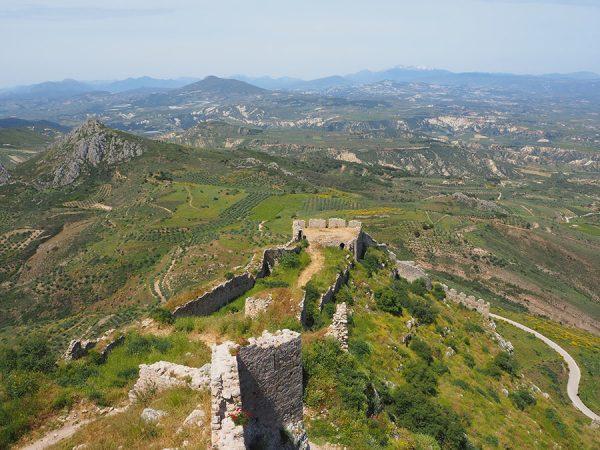 Acrocorinth Peloponnese Greece by Eric CB Cauchi Eternal Greece Ltd