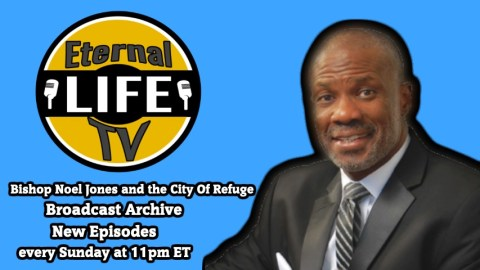 Bishop Noel Jones and the City Of Refuge TV Broadcast