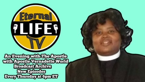 Apostle Vernadette World – An Evening with The Apostle