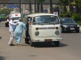 la kombi en El Cairo