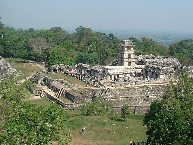 Ruínas Maias em Palenque