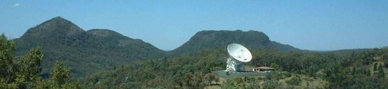 Rádiotelescópio Mopra na Austrália