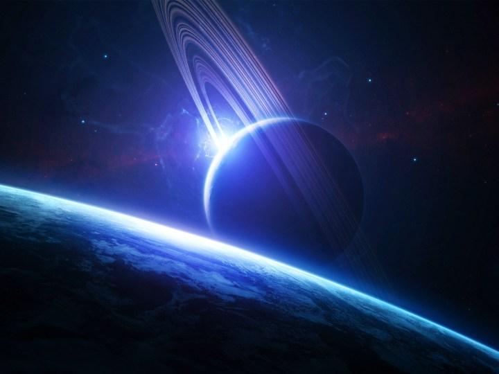 Exolua massiva, de tamanho similar ao da Terra, orbitando um exoplaneta gigante gasoso.