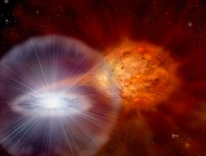 Supernova Ia por Hardy