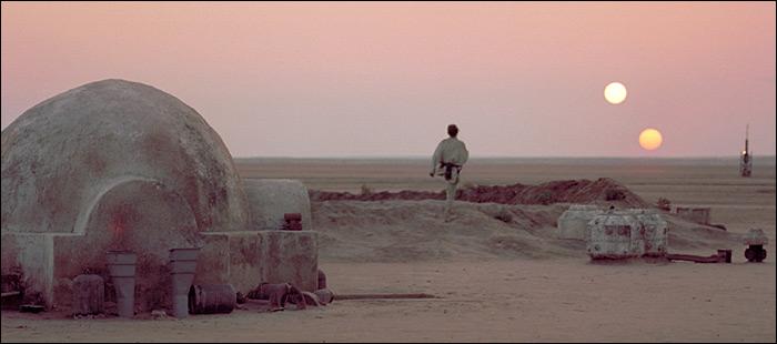Cena de Star Wars - episódio IV (A New Hope)