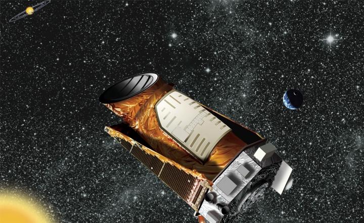 Concepção artística do Observatório Espacial Kepler da NASA