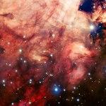 VLT do ESO captura imagens precisas da nebulosa de Ômega