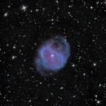 A nebulosa planetária Abell 36 mostra uma visão de como Sistema Solar ficará quando o Sol morrer