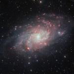 ESO: VST fotografa a Galáxia do Triângulo